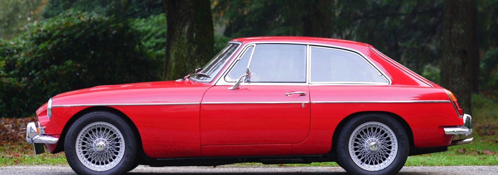 1968 MGB GT Coupe,Rare MGB GT model,Dual SU carburetors,4