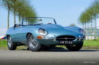 Jaguar E-type 3.8 Series 1 OTS, 1963 Restoration