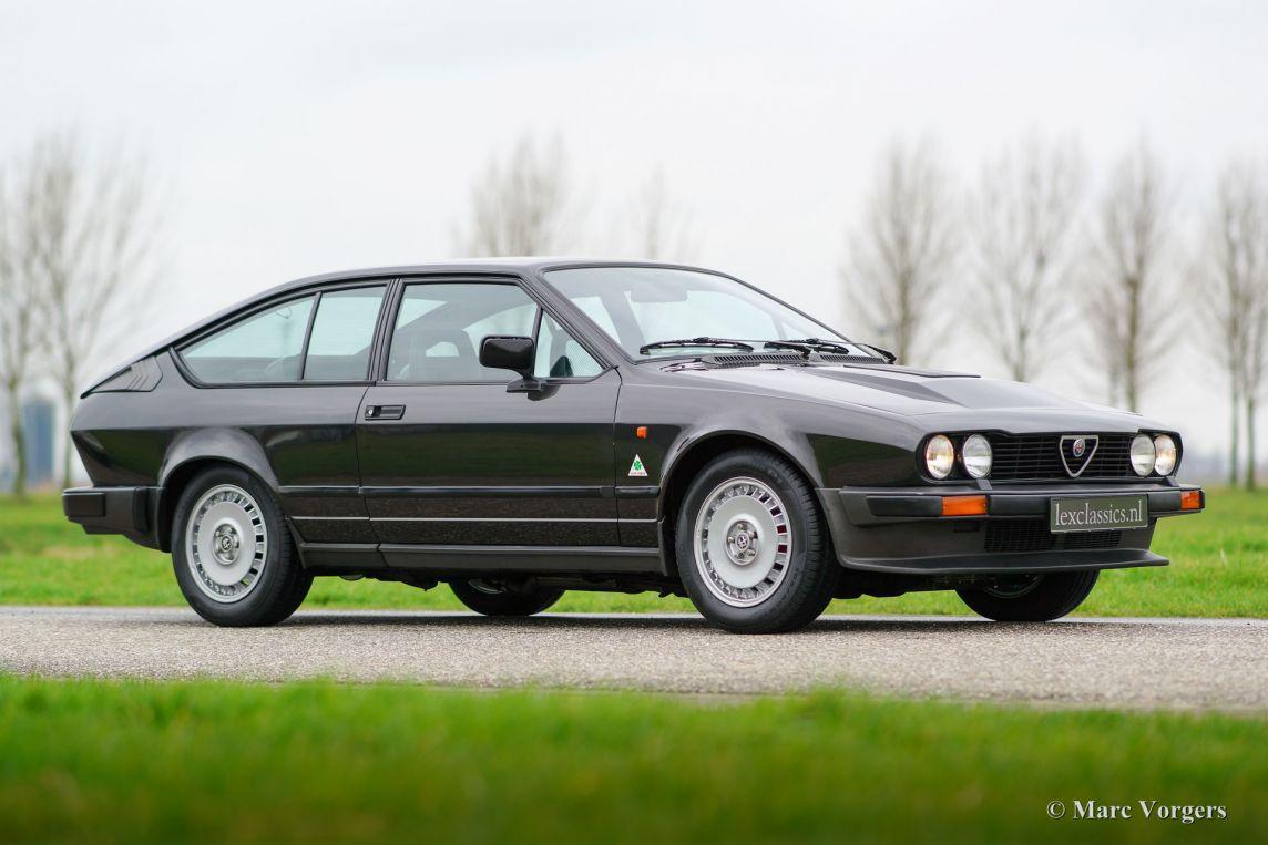 Alfa Romeo Gtv6 25 1984 Classicargarage De Transaxle