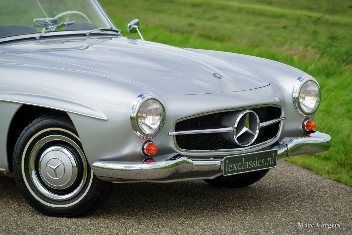 Mercedes benz 190 sl 1960 classicargarage de for Mercedes benz sl 190