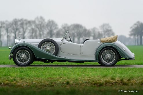 Alvis Speed 25 open tourer, 1939
