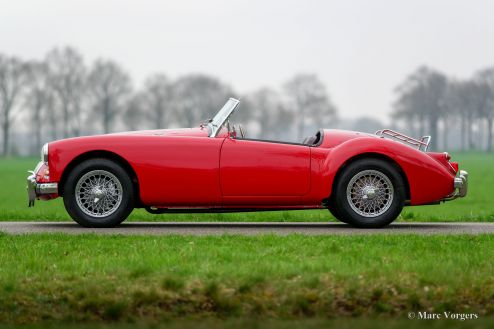 MG MGA 1600 roadster, 1961