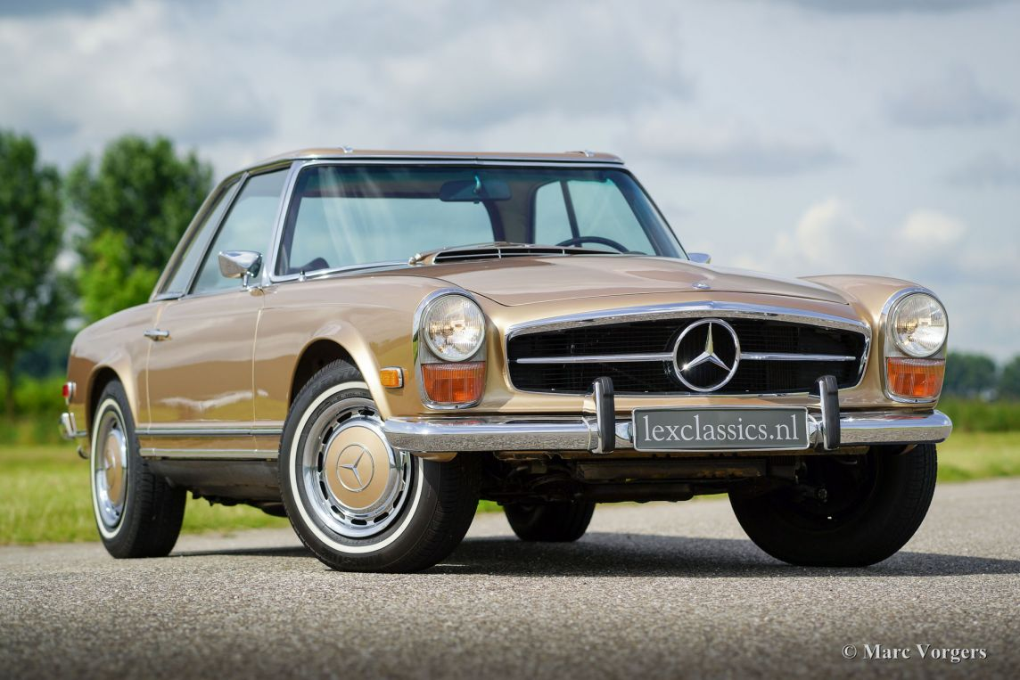 mercedes benz 280 sl pagode 1969 classicargarage de. Black Bedroom Furniture Sets. Home Design Ideas