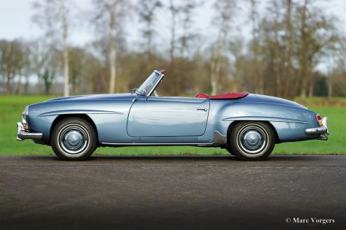 Mercedes-Benz 190 SL, 1962