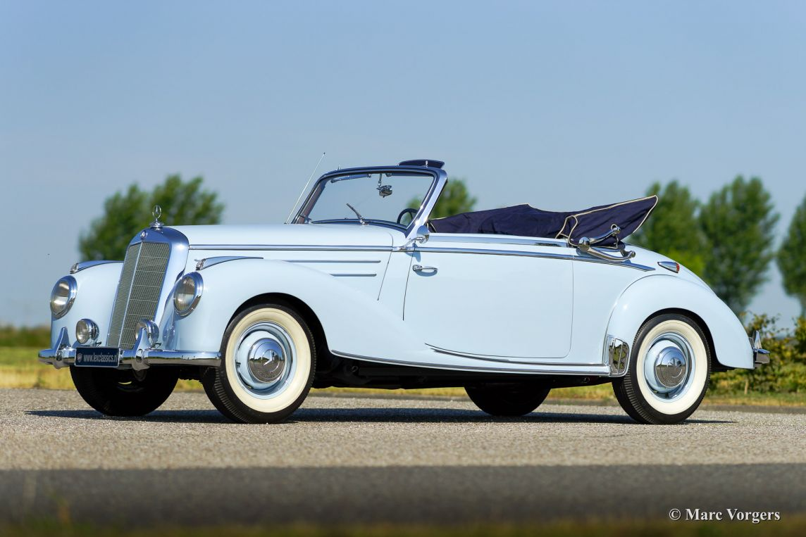 mercedes benz 220 a cabriolet 1954 classicargarage de. Black Bedroom Furniture Sets. Home Design Ideas
