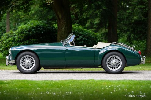 MG MGA 1500 roadster, 1955