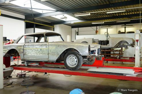 Facel Vega Facellia F2 Coupe, 1961 Restoration