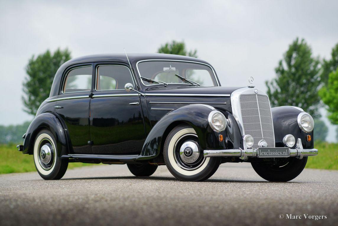 mercedes benz 220 limousine 1952 classicargarage de. Black Bedroom Furniture Sets. Home Design Ideas
