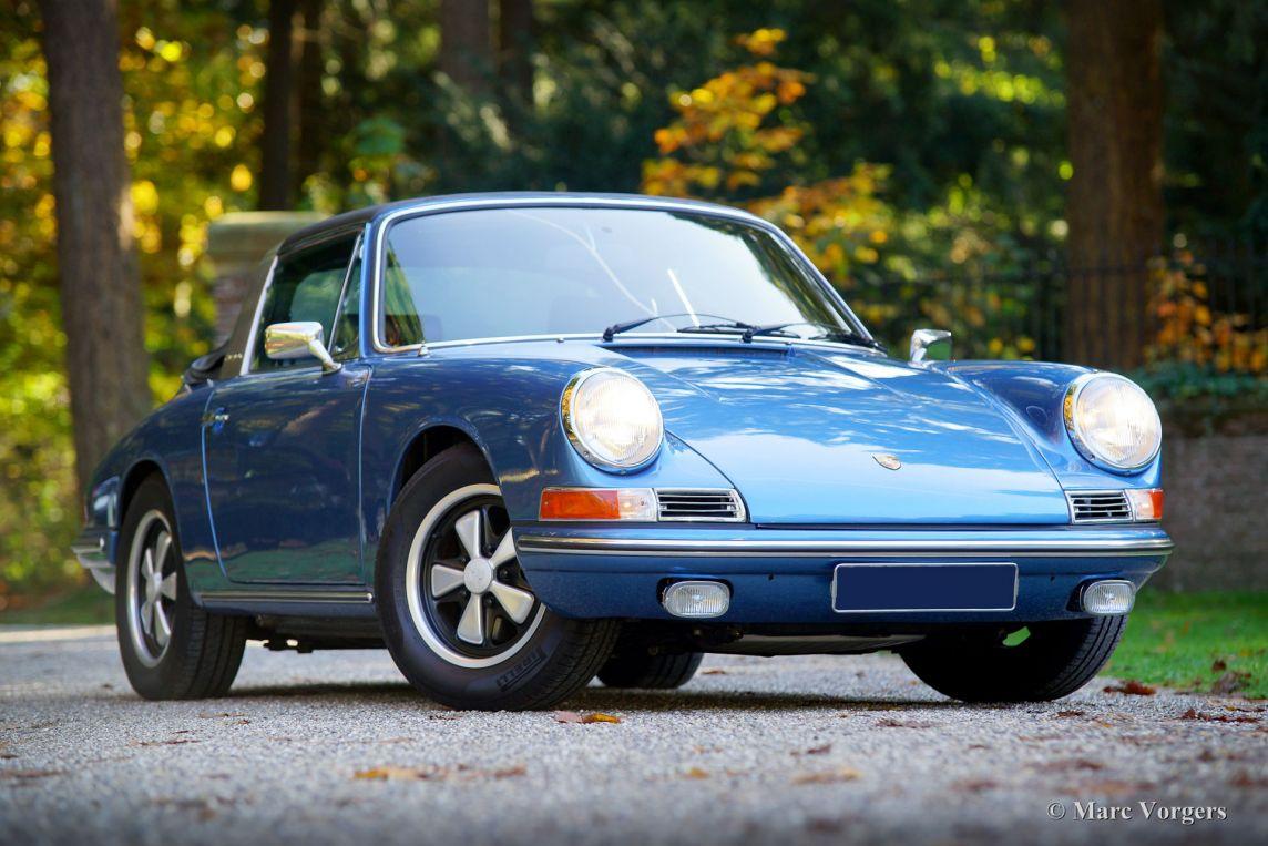 Porsche 911 L Targa Soft Window 1968 Classicargarage De