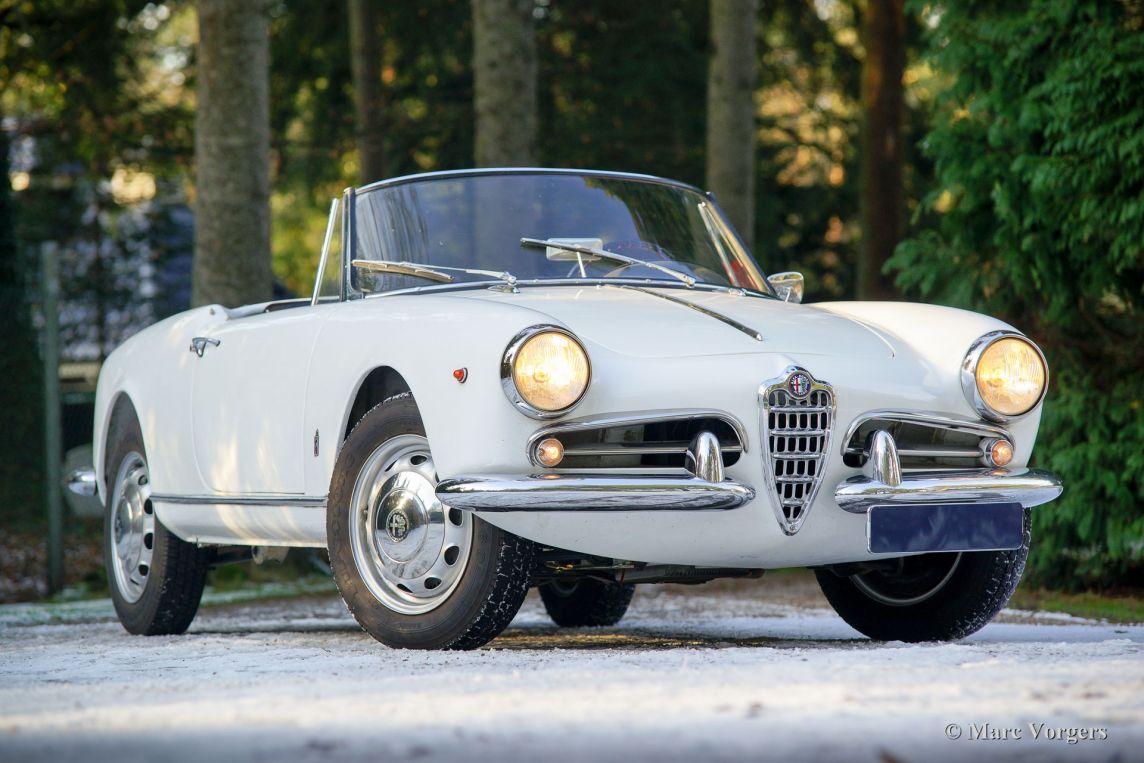 Alfa romeo giulietta spider 1960 classicargarage de for Garage alfa romeo villeneuve d ascq