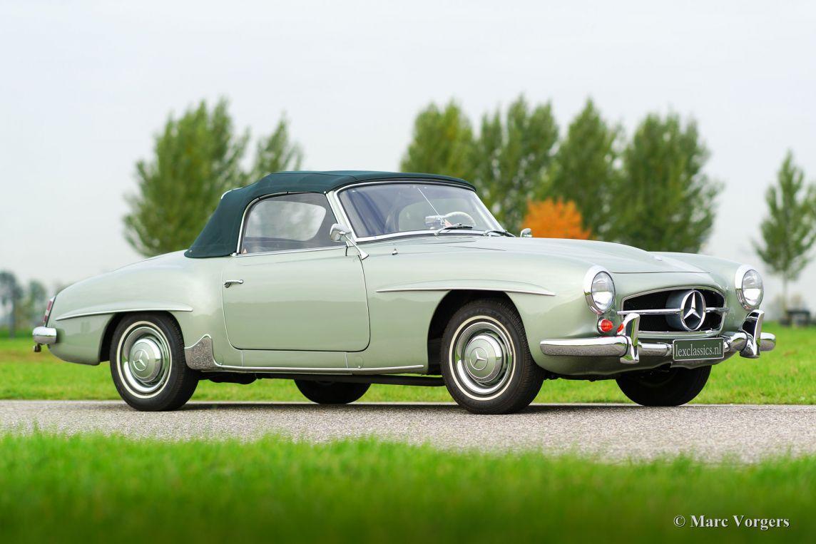 Mercedes benz 190 sl 1958 classicargarage de for Mercedes benz bentonville ar