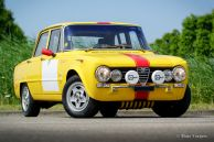 Alfa Romeo Giulia Super rally car, 1971